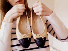chanel #shoes #flats