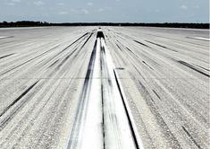Space shuttle landing strip by Vincent Fournier