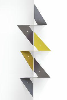 #6 O Corner, l'etagere d'angle modulable et colorée