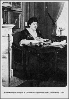 Jeanne Bonaparte en son hôtel ,75 rue de Prony; Paris