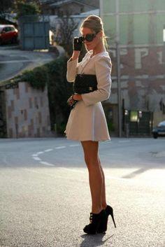 Stylish and classy dress-like jacket