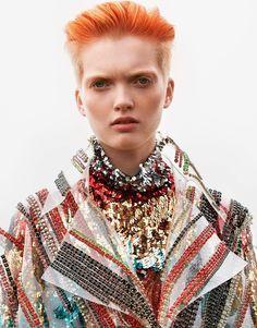 Porter Magazine Fall 2017 Ruth Bell by Camilla Akrans - Fashion Editorials