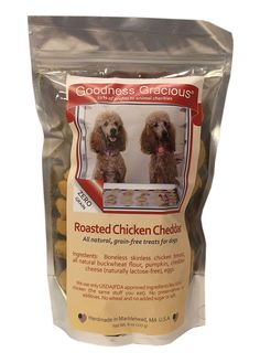 All Natural, Grain-Free Dog Treats - Roasted Chicken Cheddar Flavor => If you love this, read review now : Dog treats