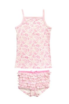 08a315e47e41 Bluebelle Frankie Paisley Pink 2 pc set - Baby Love Luna
