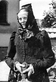 Frau aus St. Märgen #Hochschwarzwald