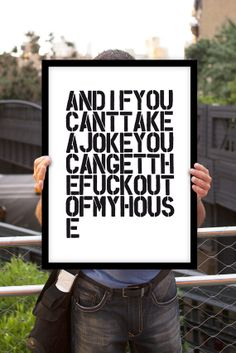 Typography Print Wall DecorAnd If You Can't by TheMotivatedType, $12.00