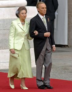 Princess Margarita of Spain. I hate her outfit.