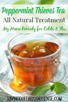 Thieves Essential Oil Recipe for Cold and Flu and Frugal DIY Non Toxic Household Cleaner