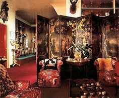 5 Ws of Design: 5Ws of… Diana Vreeland's Living Room