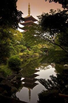Pagoda.  Japan