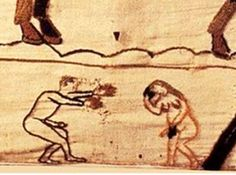 Détail tapisserie Bayeux