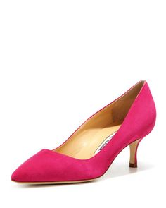X2K7X Manolo Blahnik BB Pump (Made to Order)
