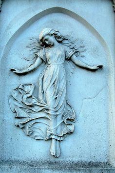 Hampstead Cemetery, London by christopherlevy