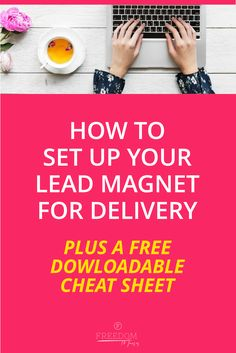 Step by Step Guide to set up your Evergreen Lead Magnet Business Tips, Online Business, Digital Marketing Strategy, Marketing Ideas, Content Marketing, Own Your Own Business, Lead Magnet, Sales Tips, Online Entrepreneur