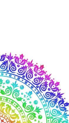 Iphone Wallpaper Mandala, Dreamcatcher Wallpaper, Disney Phone Wallpaper, Cellphone Wallpaper, Flower Wallpaper, Pattern Wallpaper, Wallpaper Backgrounds, Mandala Art Lesson, Mandala Artwork