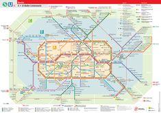 Berlin Metro System Map - Mapsof.net
