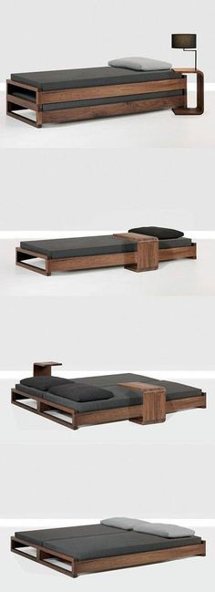 Small space bed design.