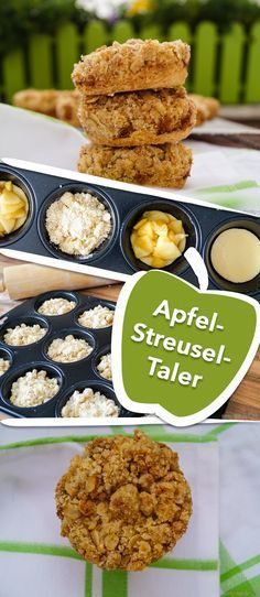 Der Apfelkuchen im Snack-Format!