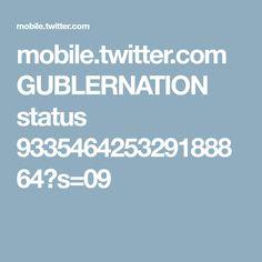 mobile.twitter.com GUBLERNATION status 933546425329188864?s=09