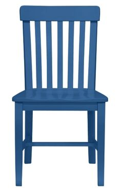 Cokie Dining Chair in Marine | Maine Cottage #colorfulfurniture