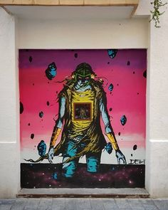 Deih Freestyler in Valencia, Spain, 2020 David Walker, Valencia Spain, Dee Dee, Street Art, Painting, Painting Art, Paintings, Painted Canvas, Drawings