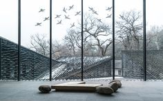 The 20 Finalists of Arcaid Images Architectural Photography Awards 2017 | Photographer: Terrence Zhang | Project: Folk Art Museum, China Academy of Arts in Hangzhou, China by Kengo Kuma | Bustler