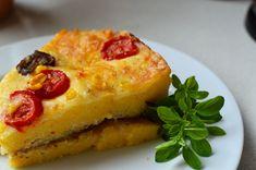 Mit Champignons, Tomaten und Mozzarella ein wahres Gedicht! Mozzarella, French Toast, Breakfast, Tomatoes, Noodles, Few Ingredients, Souffle Dish, Side Dishes, Morning Coffee