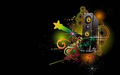 HD Wallpaper Abstract Music | Free Art Wallpapers
