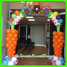 Sweets Event Decor's Community Event / Easter Theme - Photo Gallery at Catch My Party 1st Birthday Party Games, Easter Party Games, Kids Party Games, School Christmas Party, Christmas Games For Kids, Balloon Decorations Party, Easter Bunny Decorations, Balloon Ideas, Graduation Balloons