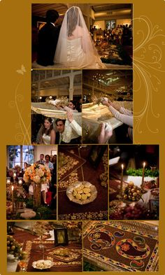beautiful modern persian wedding in san fran