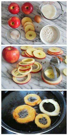 Apple Cinnamon rings, sounds yummy...
