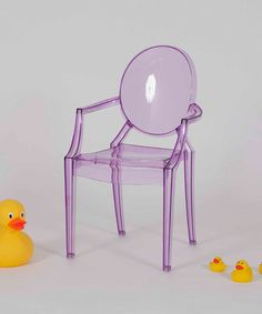 Take a look at this Purple Bentley Chair - Set of Two by Pangea Brands on #zulily today!150