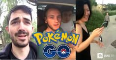 """This Guy Goes Around The Neighborhood To See If Everyone Is Playing """"Pokemon GO"""""""