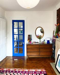 BLUE IS THE COOLEST COLOR, bright saturated blue paint color by Backdrop. Best Blue Paint Colors, Canvas Drop Cloths, Fresh Start, Home Free, Interior Walls, Exterior Paint, Colorful Interiors, Bright, Cool Stuff