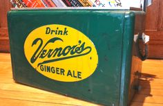 Vernors! The best ginger ale in the world! Ok so it's not originally from Flint...
