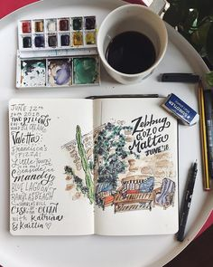 """Better Left Said on Instagram: """"Last week with my old roomies in #Malta. It was a good week 🌞(not to mention our @airbnb had a flower wall 🌸) #handlettering #watercolour…"""" Good Week, Flower Wall, Malta, Hand Lettering, Watercolour, Sayings, Flowers, Instagram, The Moon"""