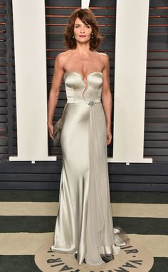 Helena Christensen from Vanity Fair Oscars Party 2016: What the Stars Wore | E! Online