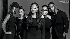 Rutina Wesley, Dawn-Lyen Gardner, DuVernay, Winfrey, and Kofi Siriboe