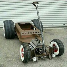 Hot lil rod wagon