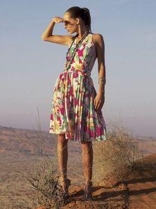 burda style: Damen - Kleider - Sommerkleider - Kleid - plissierter Faltenrock