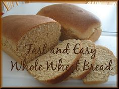 Savory Seasonings: Fast and Easy Whole Wheat Bread