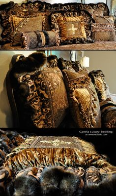 Luxury Bedding High-End Old World Bedding Set