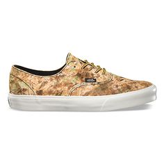 Vans Product: Camo Era Decon CA / Reminds me of the gorgeous patina you get when you acid wash bronze. Art in the making.