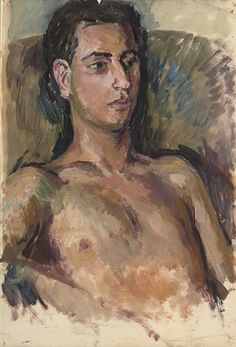 Duncan Grant,Portrait of a Male Nude
