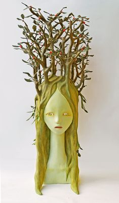 Grotesque Sculptures by Yui Ishibashi Depicts Nature Overpowering Humans | Spoon & Tamago