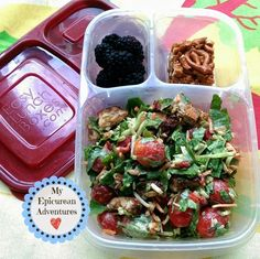 My Epicurean Adventures: Volunteering at School Wednesday Lunches #4 @easylunchboxes Grown-up Lunch