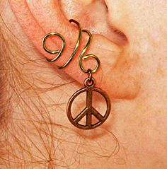 Happy Hippy Ear Cuff $8