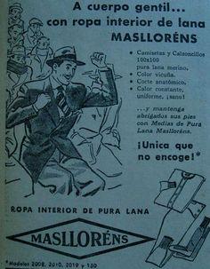 La envidia de todos los emponchados muertos de frío es por la ropa interior Masllorens ¿Qué tal?