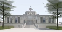 Vandaag wordt de sleutel van het Nationaal Onderwijsmuseum overhandigd aan de directeur. Wordt gevestigd in het vm. gebouw De Holland, een ontwerp van architect Sybold van Ravesteijn (Diergaarde Blijdorp, vorige CS Rotterdam, pas gerenoveerde Kunstmin Dordrecht)