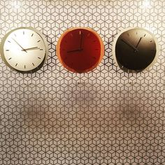 Popup clock chez @Incipitlab #live #MO17 #deco #design #interior #decor #paris